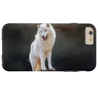 Arctic wolf tough iPhone 6 plus case