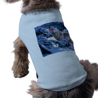 Arctic wolf - white wolf - wolf art shirt