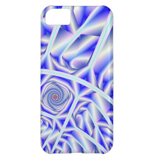 Arctica Fractal Artwork Cover For iPhone 5C
