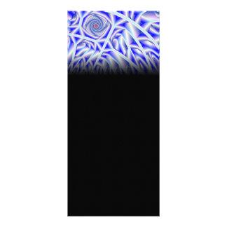 Arctica Fractal Artwork Personalized Rack Card