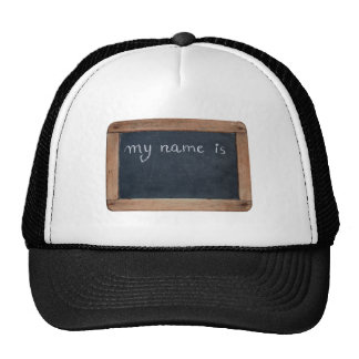 Ardoise - My Name is... Personalizable Hat