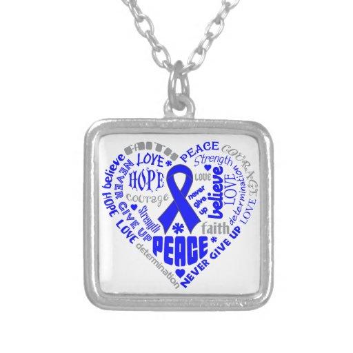 ARDS Awareness Heart Words Custom Jewelry