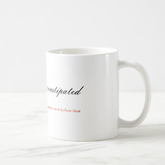 Are bears ever constipated in the woods coffee mug