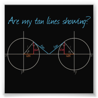 Are my Tan Lines Showing Photographic Print