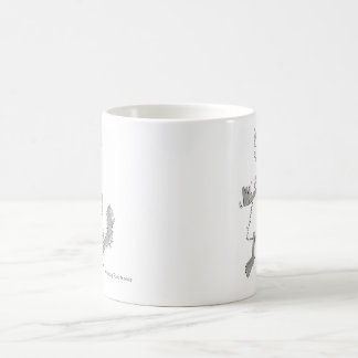 are wolf there you, wolf are there you? basic white mug