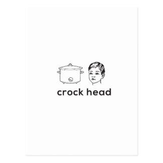 Are you a Crockhead? Postcard