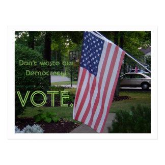 Are you a legal citizen?  VOTE! Postcard