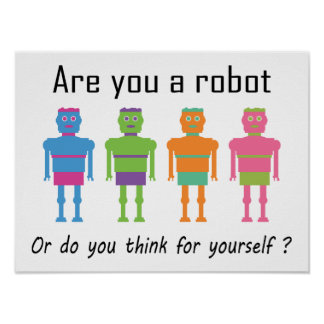 Are you a Robot? Poster