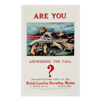 Are you Answering the Call? (US02111) Poster