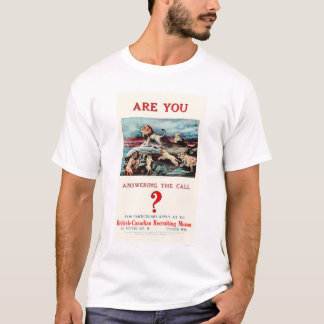 Are you Answering the Call? (US02111) T-Shirt
