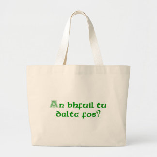 Are You Drunk Yet? Large Tote Bag