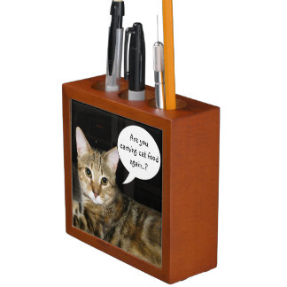 Are you earning Cat Food again..? Desk Organiser