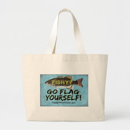 Are YOU Fishy Tote Canvas Bags