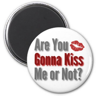 Are You Gonna Kiss Me or Not? Magnet