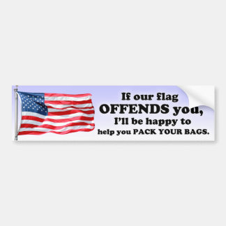 Are You Offended? Car Bumper Sticker