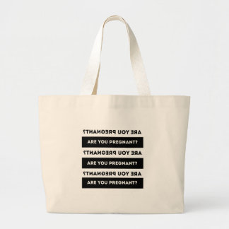 Are You Pregnant? Tote Bag