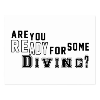 Are you ready for some Diving Postcards