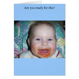 Are you ready for this? greeting card