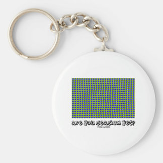 Are You Seasick Yet? (Motion Illusion) Basic Round Button Key Ring