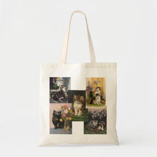 Are you the Crazy Cat Lady! Victorian Kittens Tote Bag