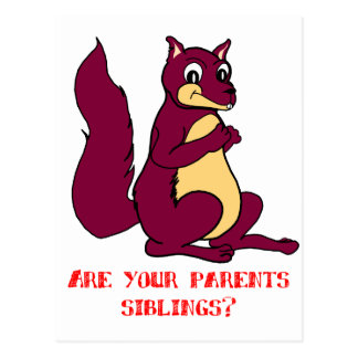 Are your parents siblings? post cards