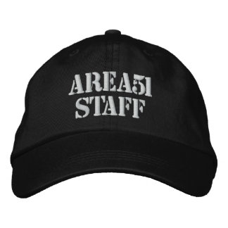 AREA51STAFF EMBROIDERED HAT