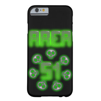 Area 51 Alien case Barely There iPhone 6 Case