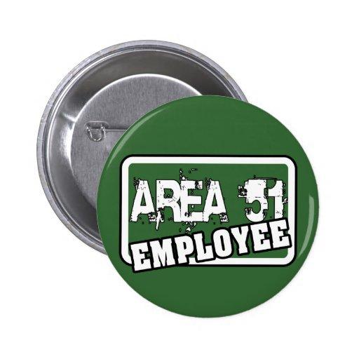 AREA 51 Employee Button