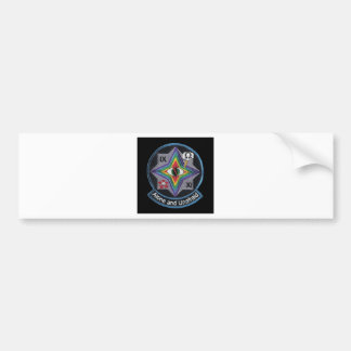 area 51 patch bumper sticker