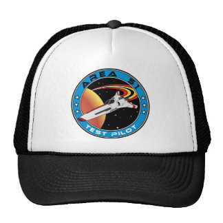 Area 51 Test Pilot Cap
