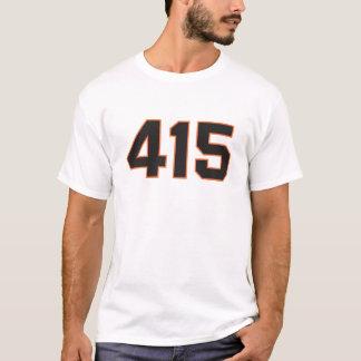 Area Code 415 San Francisco shirt