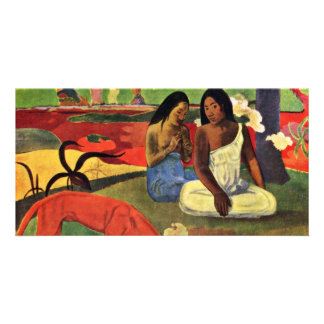 Arearea By Gauguin Paul (Best Quality) Customized Photo Card