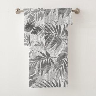 Areca Palms Hawaiian Tropical Vintage Coordinates Bath Towel Set