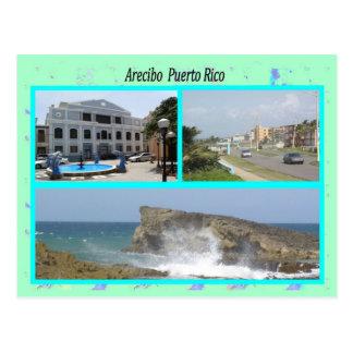 Arecibo Puerto Rico Postcard