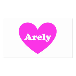 Arely Business Card Templates