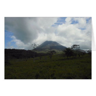 Arenal Volcano Card