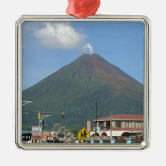 ARENAL VOLCANO, Costa Rica Metal Ornament