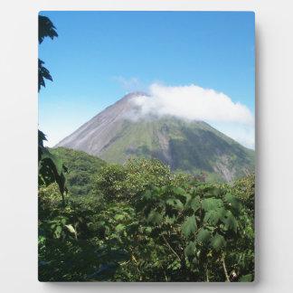 arenal volcano plaque