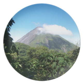 arenal volcano plate
