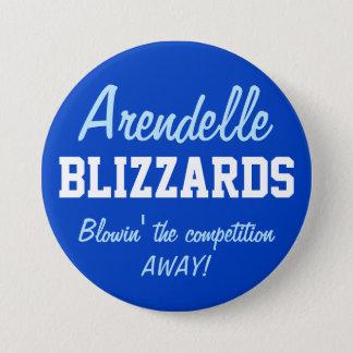 Arendelle Blizzards 7.5 Cm Round Badge