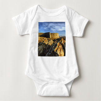 Areosa fortress baby bodysuit