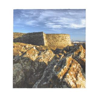 Areosa fortress notepad