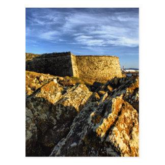Areosa fortress postcard