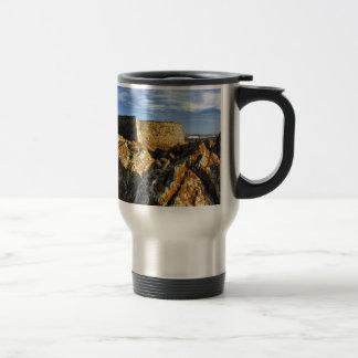 Areosa fortress travel mug