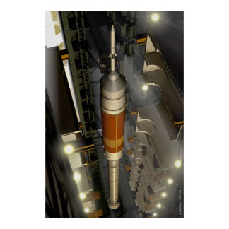 Ares 1 Rocket Poster