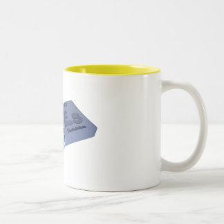 Ares as Ar Argon and Es Einsteinium Coffee Mugs