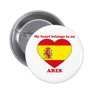 Ares Pinback Buttons