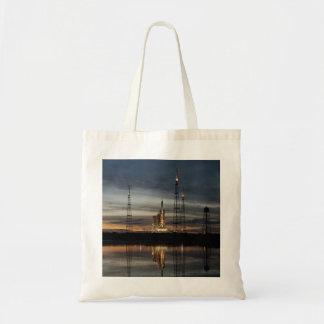 Ares I-X rocket Budget Tote Bag