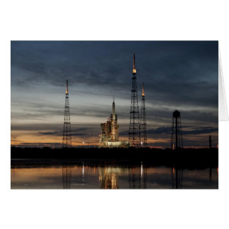 Ares I-X rocket Greeting Card