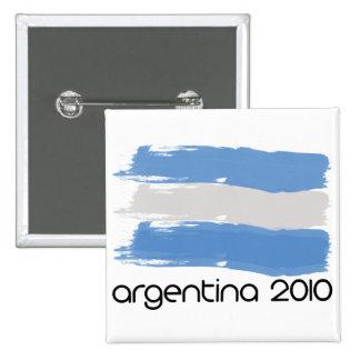 Argentina 2010 15 cm square badge